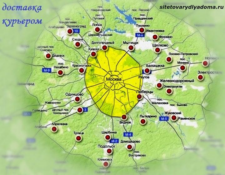 региональность сайта-сайт Товары для дома