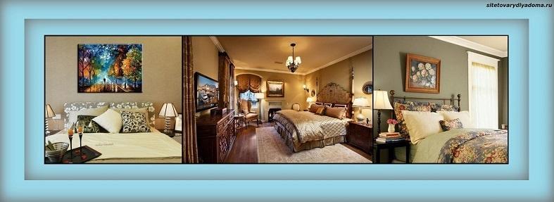 картины маслом для интерьера спальни-фото