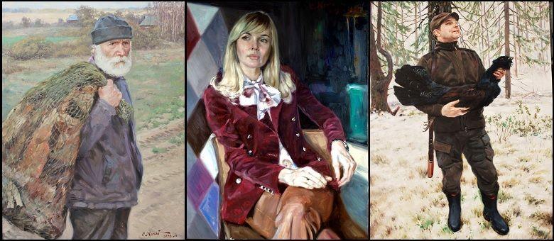 примеры заказанных портретов художника Сергея Жукова