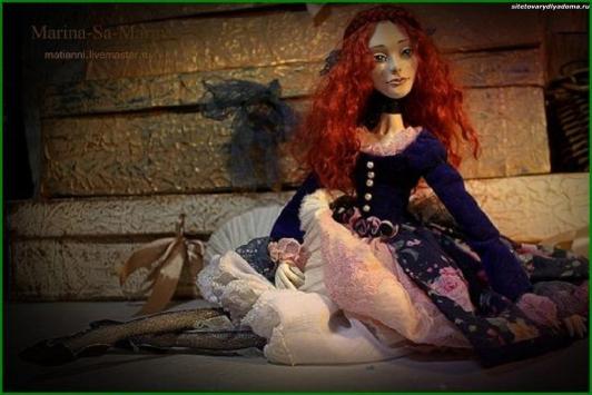 авторская кукла Ирэна - на сайте товары для дома