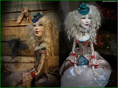 будуарная кукла Белла - на сайте товары для дома