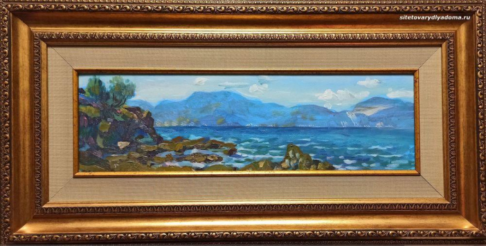 Греческий пейзаж А.Гилярова «Колхида.Греция-4» на сайте товаров