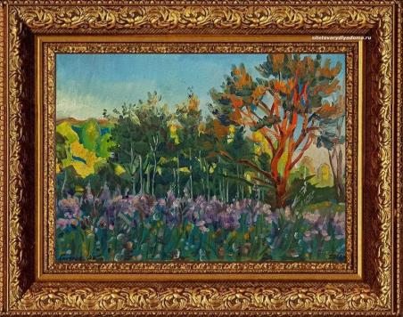 живописец А.В. Гиляров – картина «Тверская область.Июнь»-пейзажи