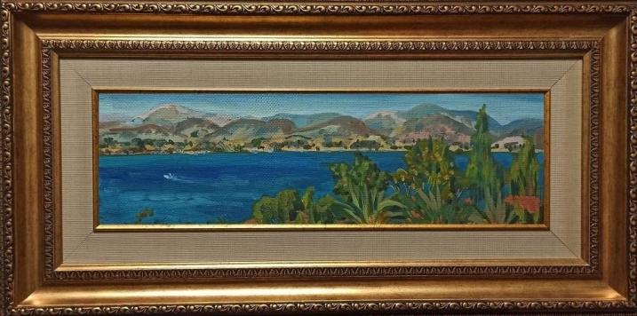 пейзаж художника Гилярова «Колхида.Греция-2» на сайте товаров для дома