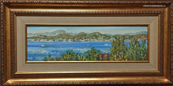 Пейзаж морской Алексея Гилярова Колхида.Греция Код К-143