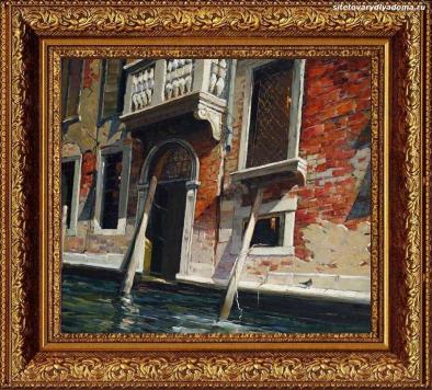 пейзаж городской «Балкон.Венеция»