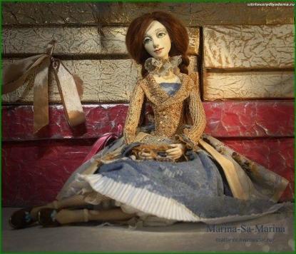 кукла для интерьера Марина - на сайте товары для дома