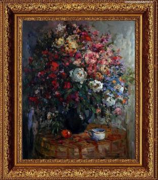 натюрморт с цветами Цветы-1