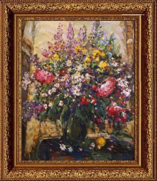 Натюрморт Колотилова с цветами Цветы-2