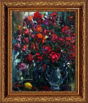 Работа А.Колотилова в виде натюрморта «Розы-1»