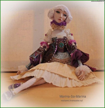стилизованная кукла Софи - на сайте товары для дома